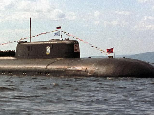 атомная лодка курск затонула