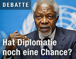 Internationaler Sondervermittler Kofi Annan