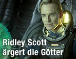 "Michael Fassbender als ""David"" im Film ""Prometheus"""