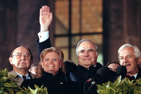 helmut kohl s ten point plan for german unity