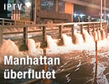 Flut in Manhattan